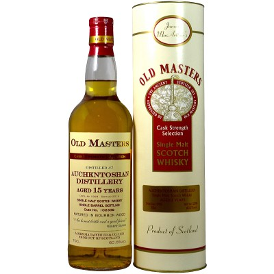 Auchentoshan 1998/2014 15 Years Bourbon Cask 102339 (James MacArthur Old Masters)