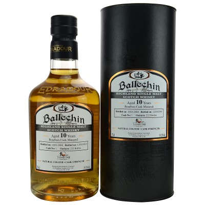 Ballechin 2006/2016 10 Jahre Single Cask No. 1