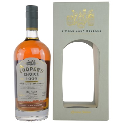 Ben Nevis 1996/2017 Sherry Cask No. 2212 (Vintage Malt Whisky Company - The Coopers Choice)