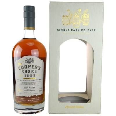 Ben Nevis 1996/2017 Sherry Cask No.2212 (Vintage Malt Whisky Company - The Coopers Choice)