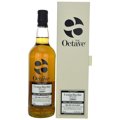 Craigellachie 2008/2016 Single Cask The Octave (Duncan Taylor)