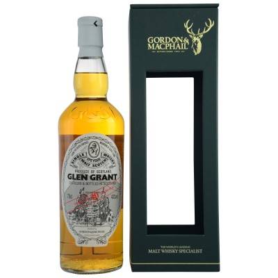 Glen Grant 40 Years Old (Gordon and Macphail Distillery Label)