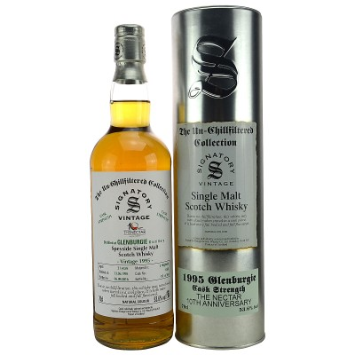 Glenburgie 1995/2016 21 Jahre Cask No. 6503 (Signatory Un-Chillfiltered)