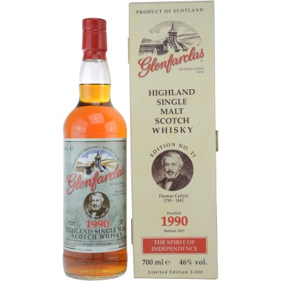 Glenfarclas 1990/2017 Edition No 21 Thomas Carlyle