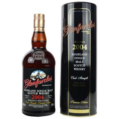Glenfarclas 2004/2015 Cask Strength Sherry Cask