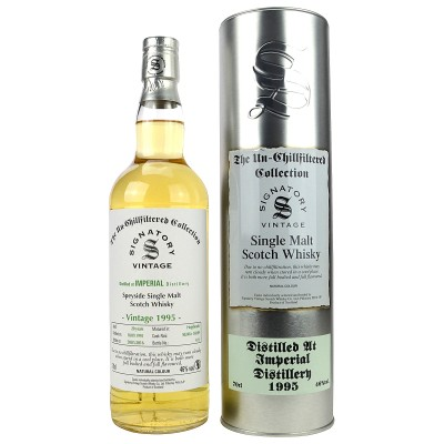Imperial 1995/2016 - Cask No: 50265/66 - (Signatory Un-Chillfiltered)