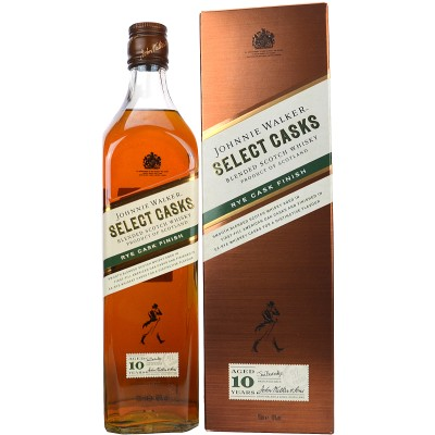Johnnie Walker Select Casks Rye Cask Finish 10 Jahre (Limited Edition)