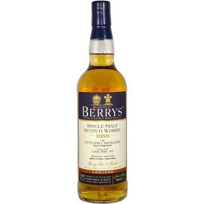 Littlemill 1988/2014 Cask Ref 57 (Berry Bros and Rudd)