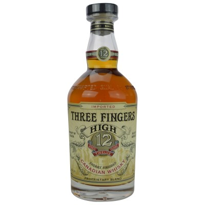 Three Fingers High 12 Jahre Sherry Finished Canadian Whisky (Kanada)