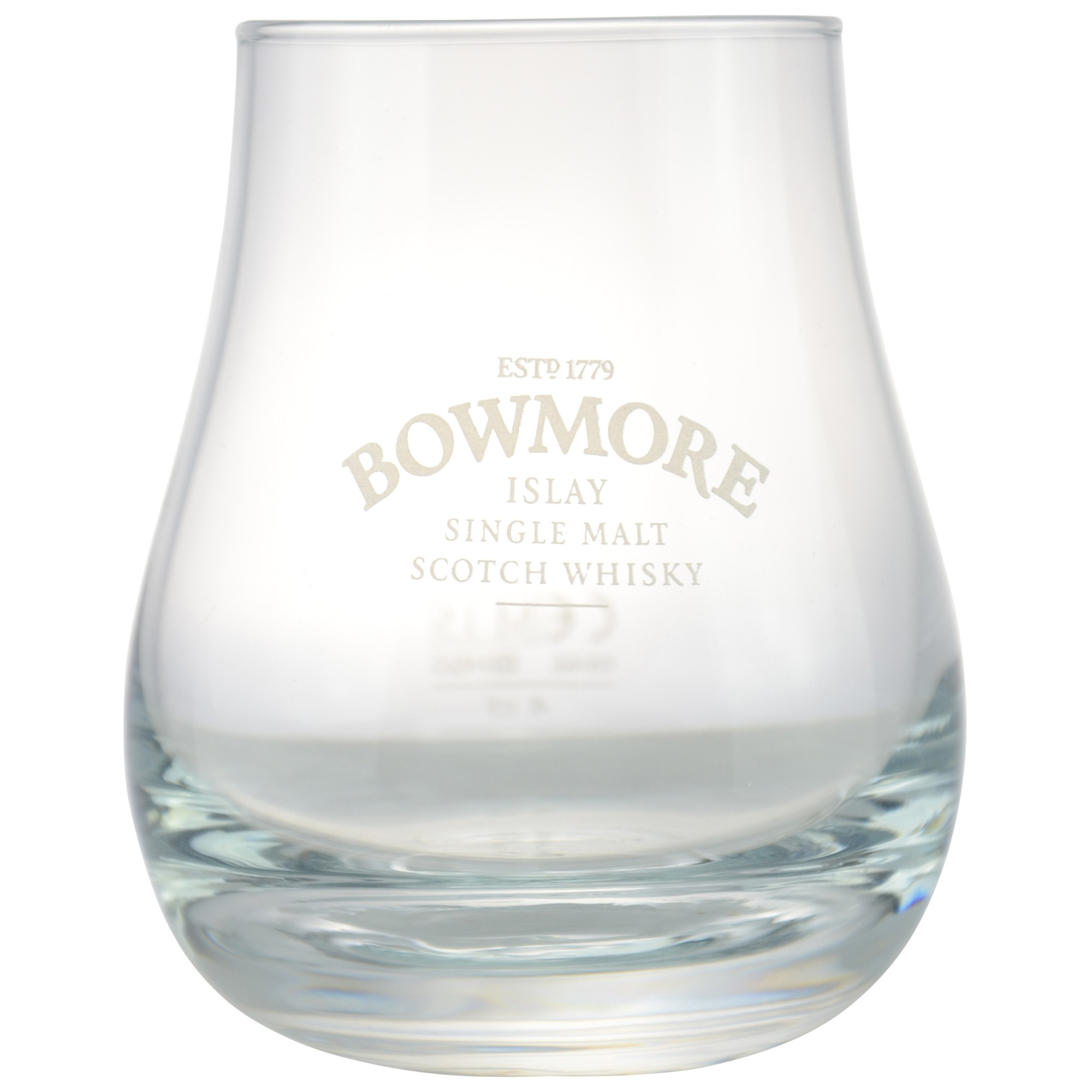 tumbler whisky glas mit bowmore motiv hier kaufen. Black Bedroom Furniture Sets. Home Design Ideas