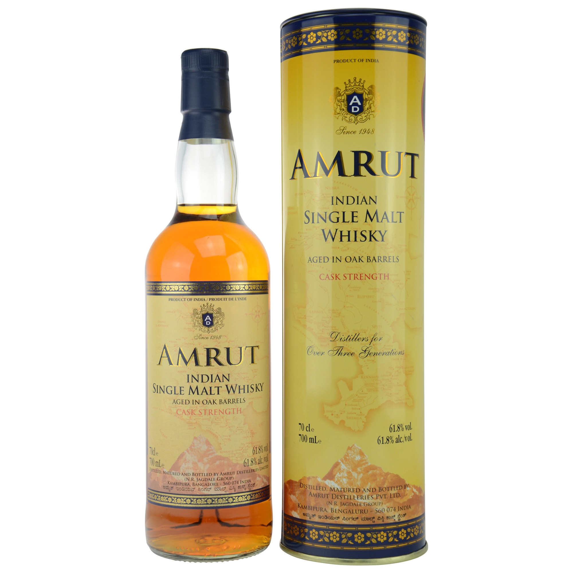 Amrut Single Malt Cask Strength (Indien)