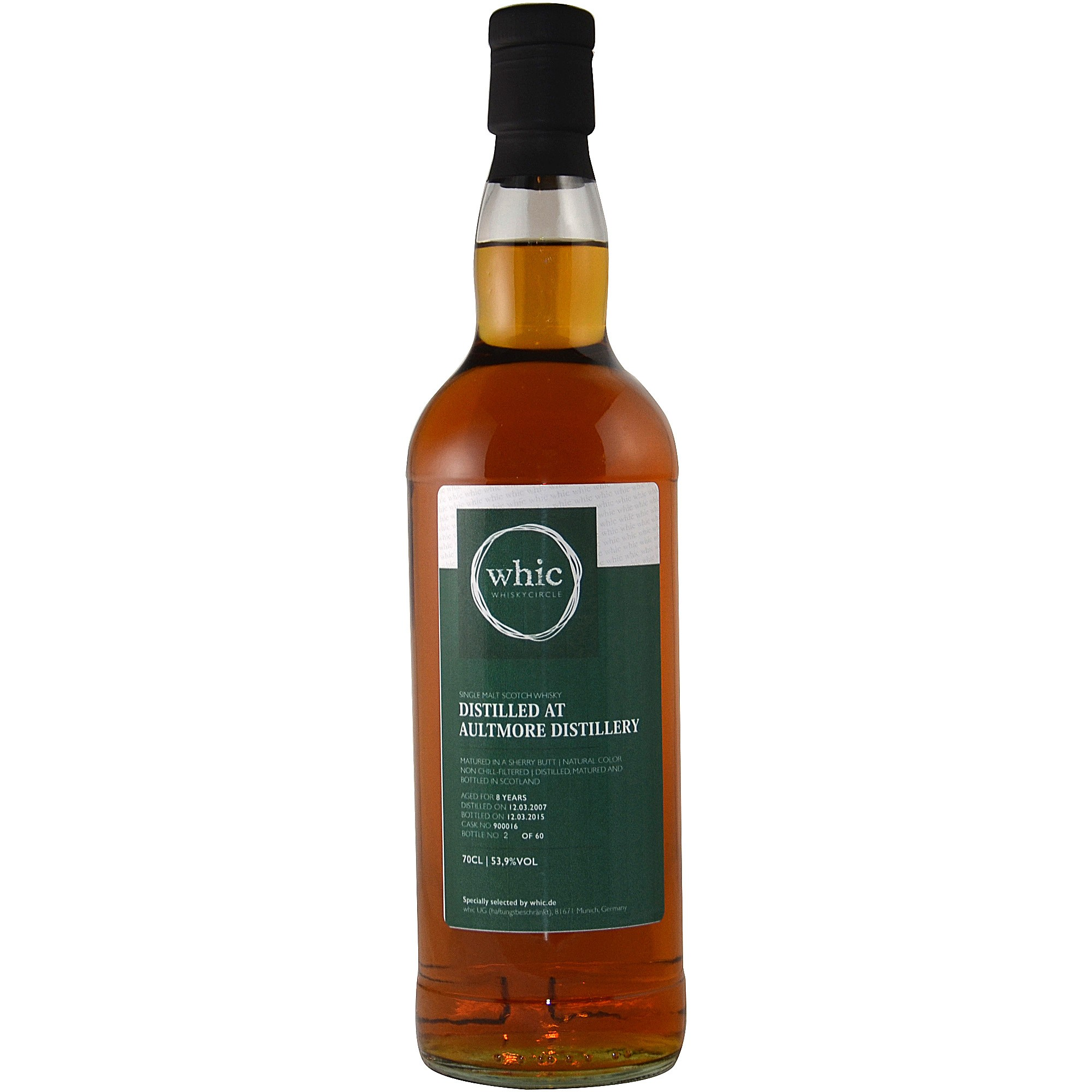 Aultmore 2007/2015 Sherry Butt (whic)