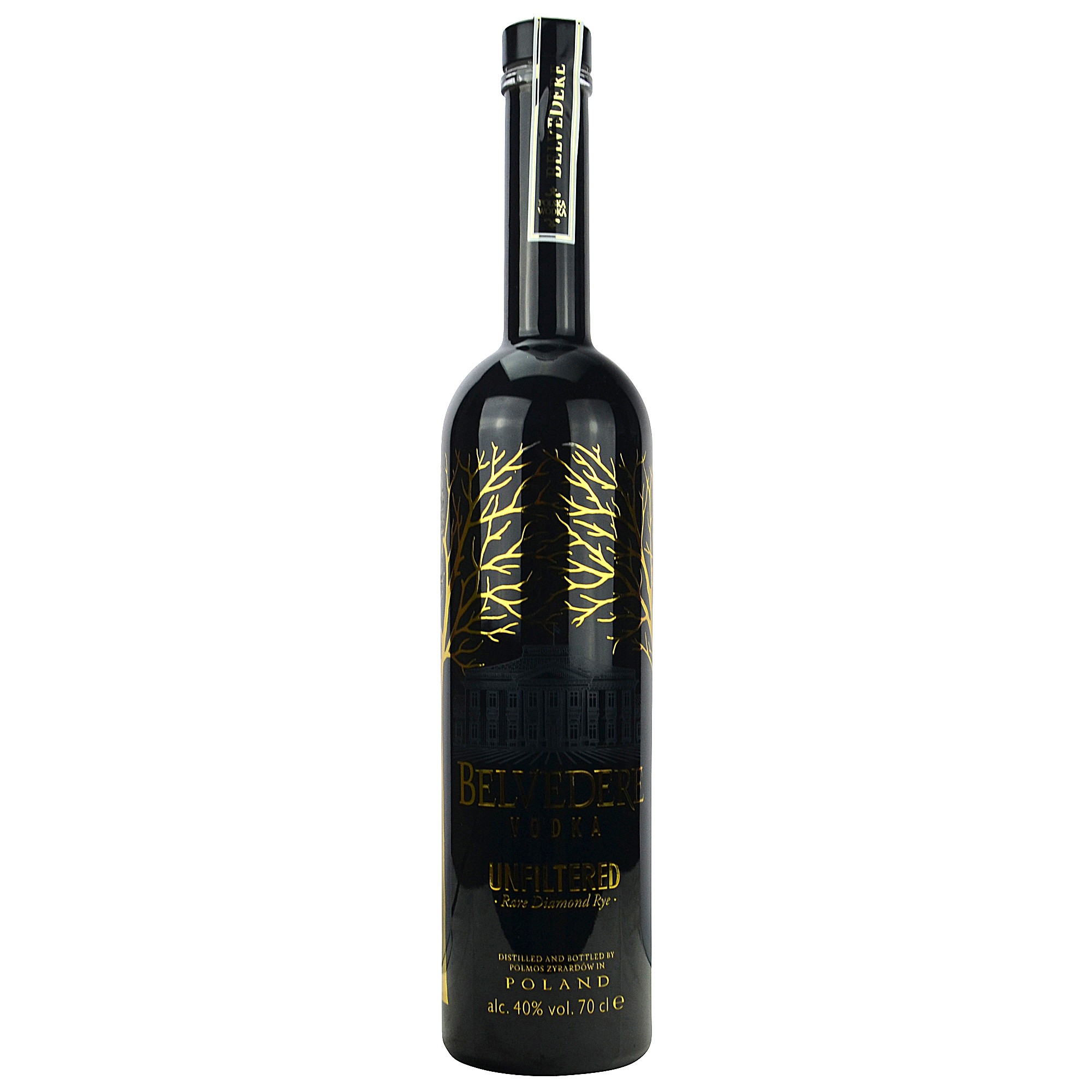 Belvedere Vodka Unfiltered Rare Diamond Rye (Wodka) (Polen)