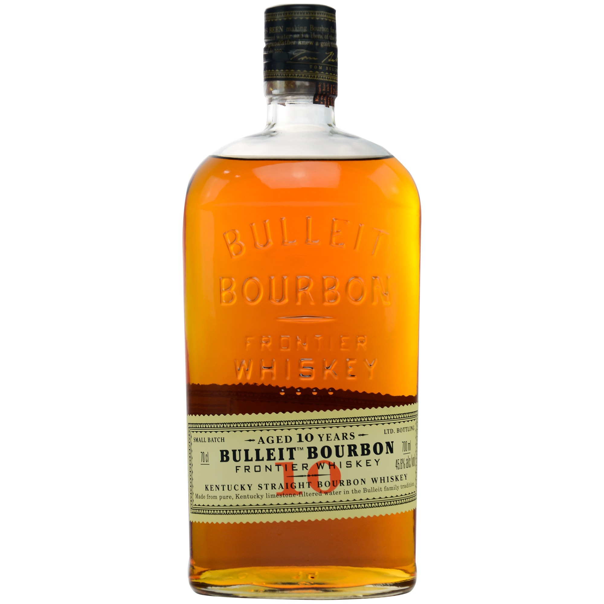 Bulleit 10 Jahre Kentucky Straight Bourbon Whiskey (USA: Bourbon)