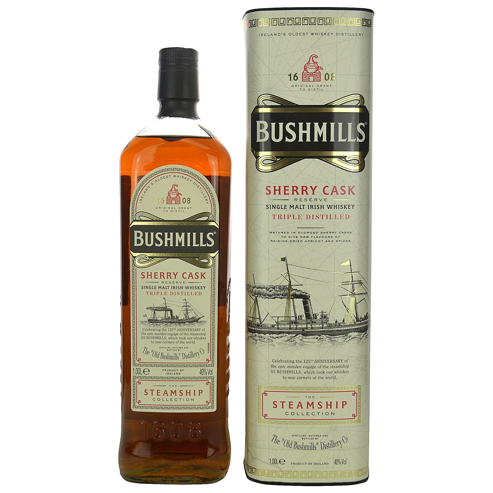 Bushmills Sherry Cask The Steamship Collection (Liter) (Irland)