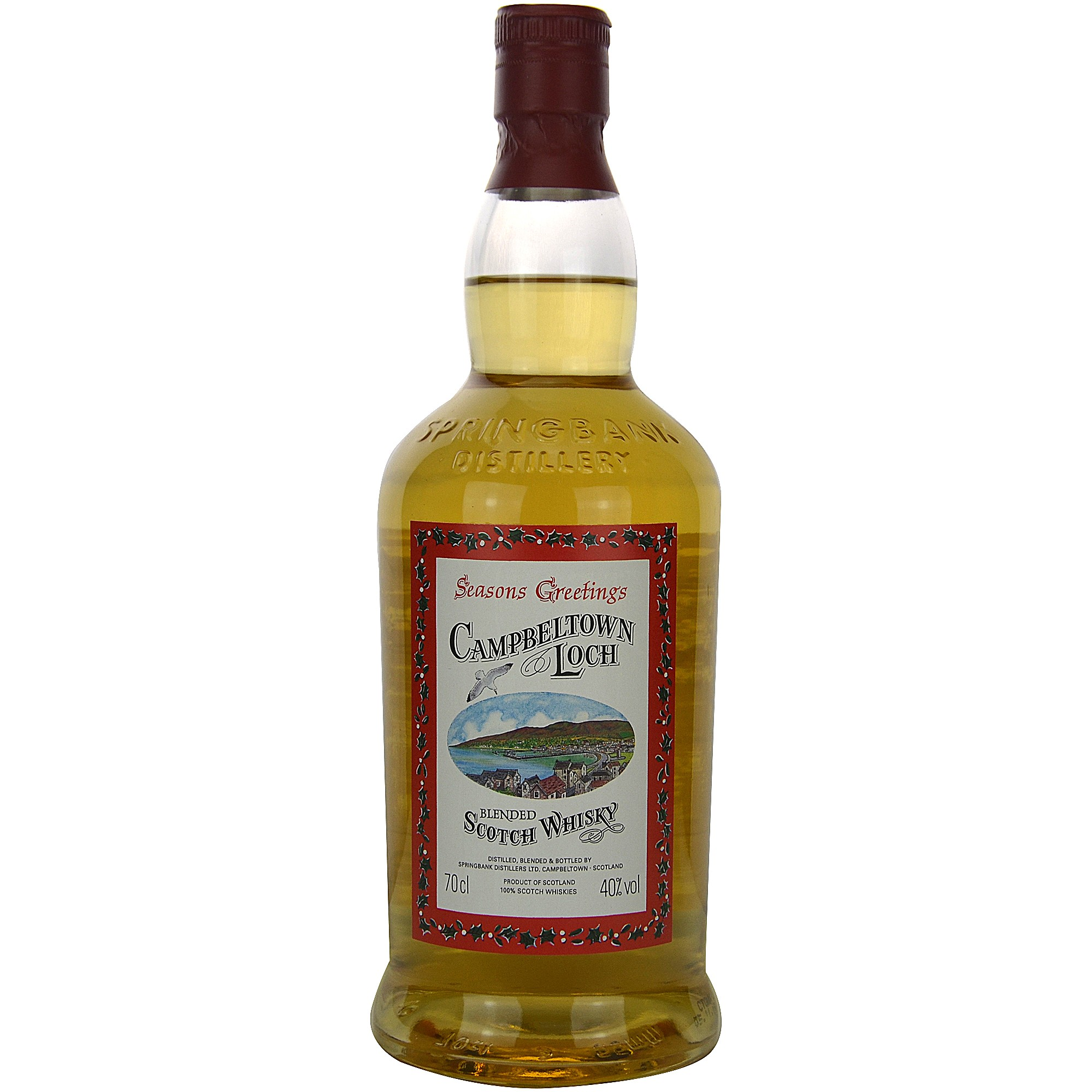 Campbeltown Loch Seasons Greetings Blended Scotch