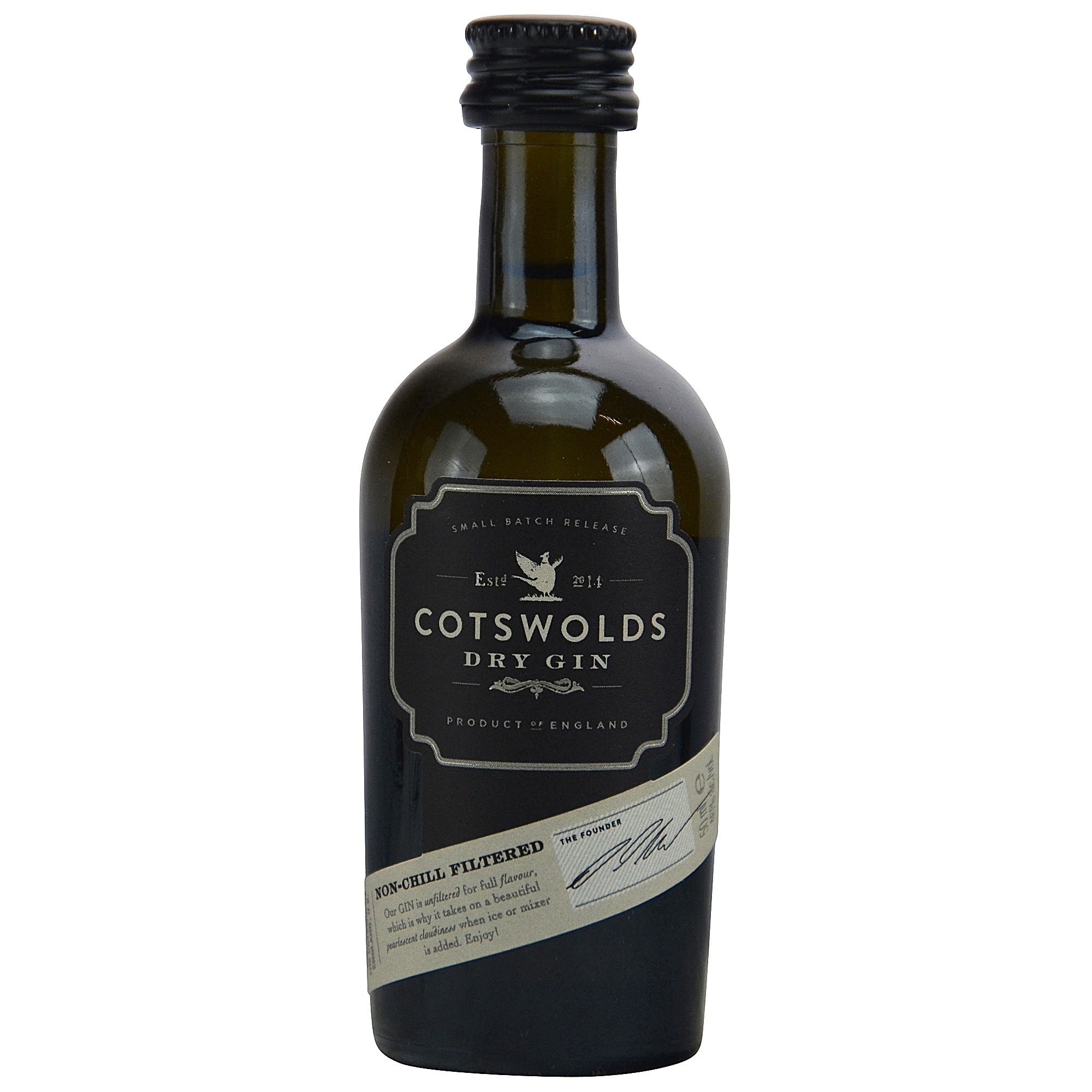 Cotswolds Dry Gin Small Batch Release (Miniatur)