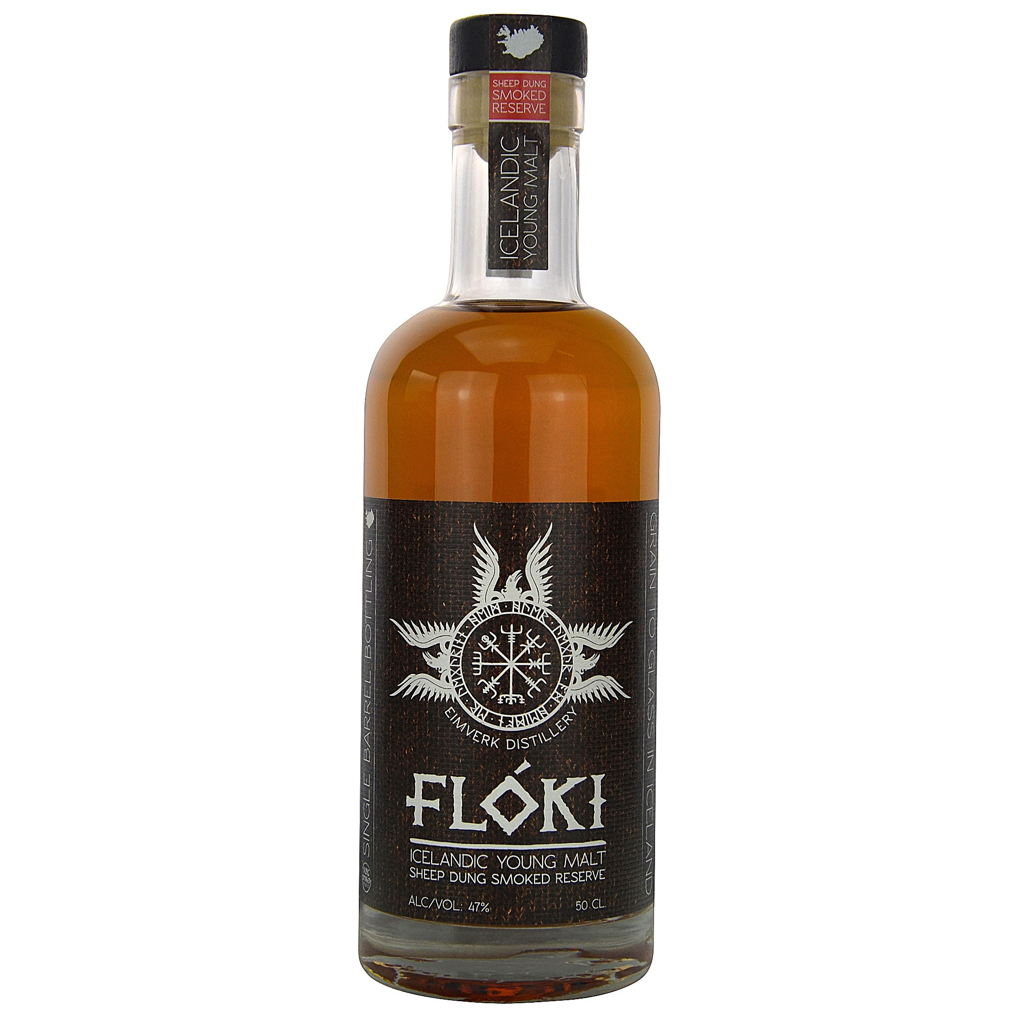 Floki Icelandic Young Malt - Sheep Dung Smoked Reserve - Barrel No. 11 (Island)