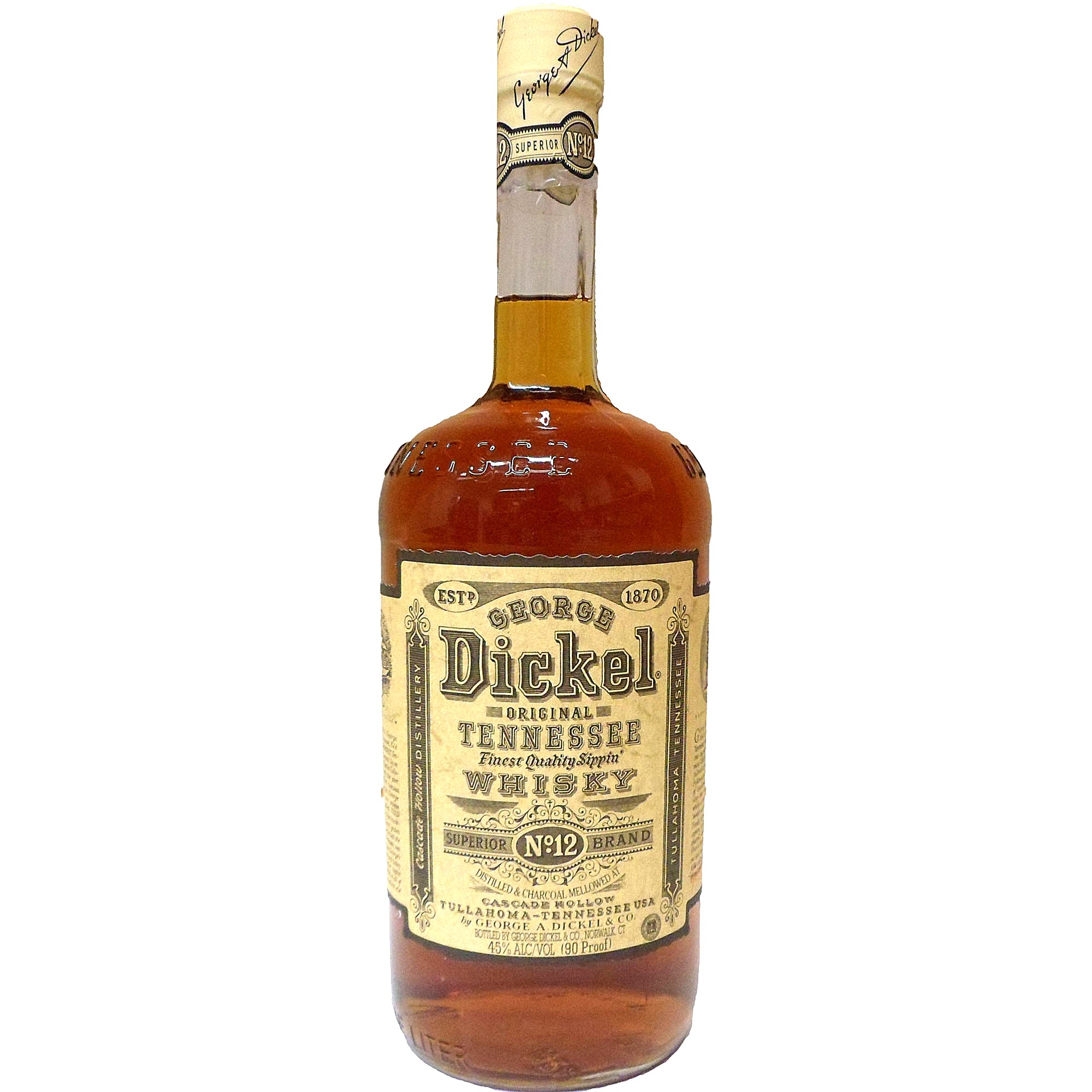 George Dickel No. 12 (Liter) (Tennessee Whisky)