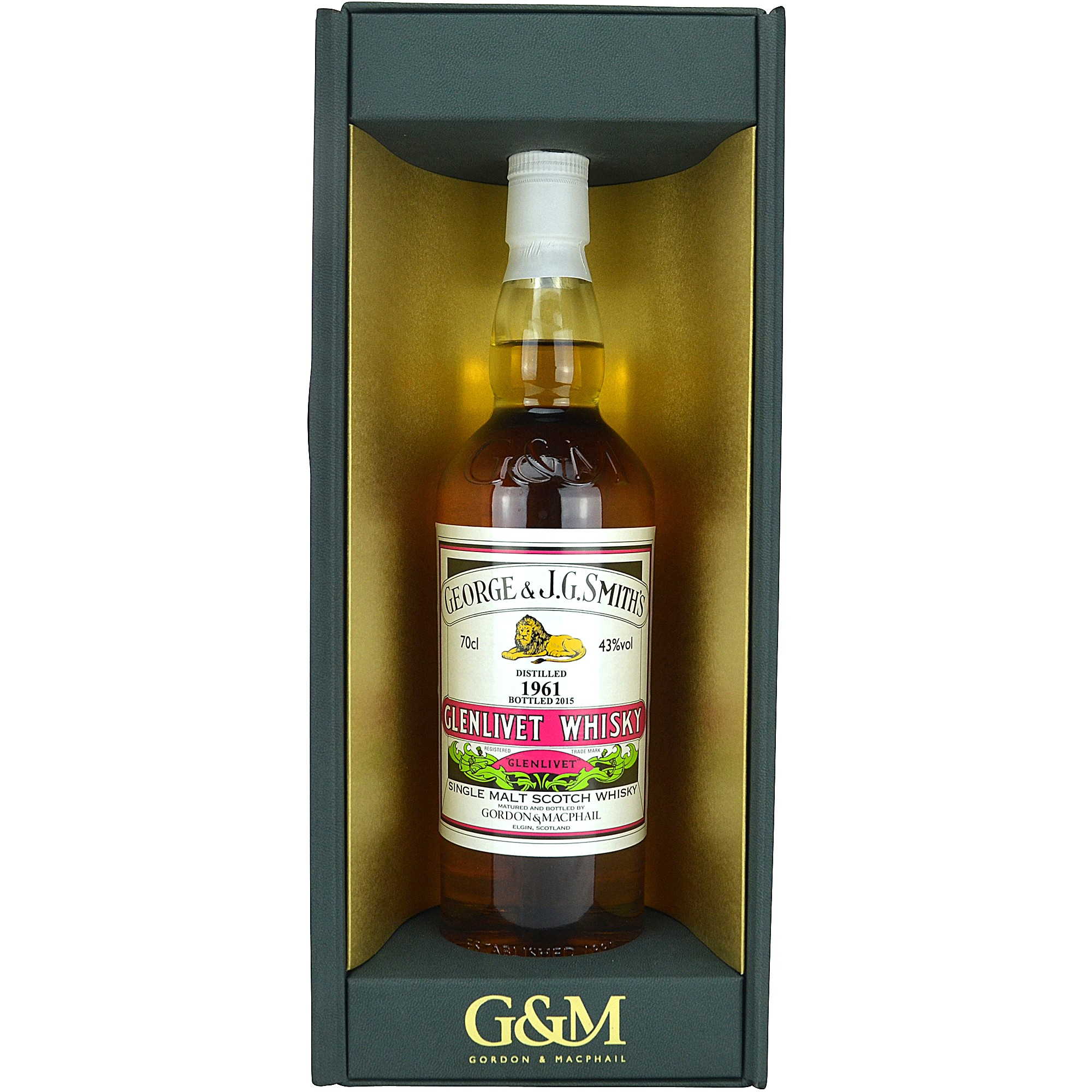 Glenlivet 1961/2015 (Gordon & MacPhail Distillery Label)