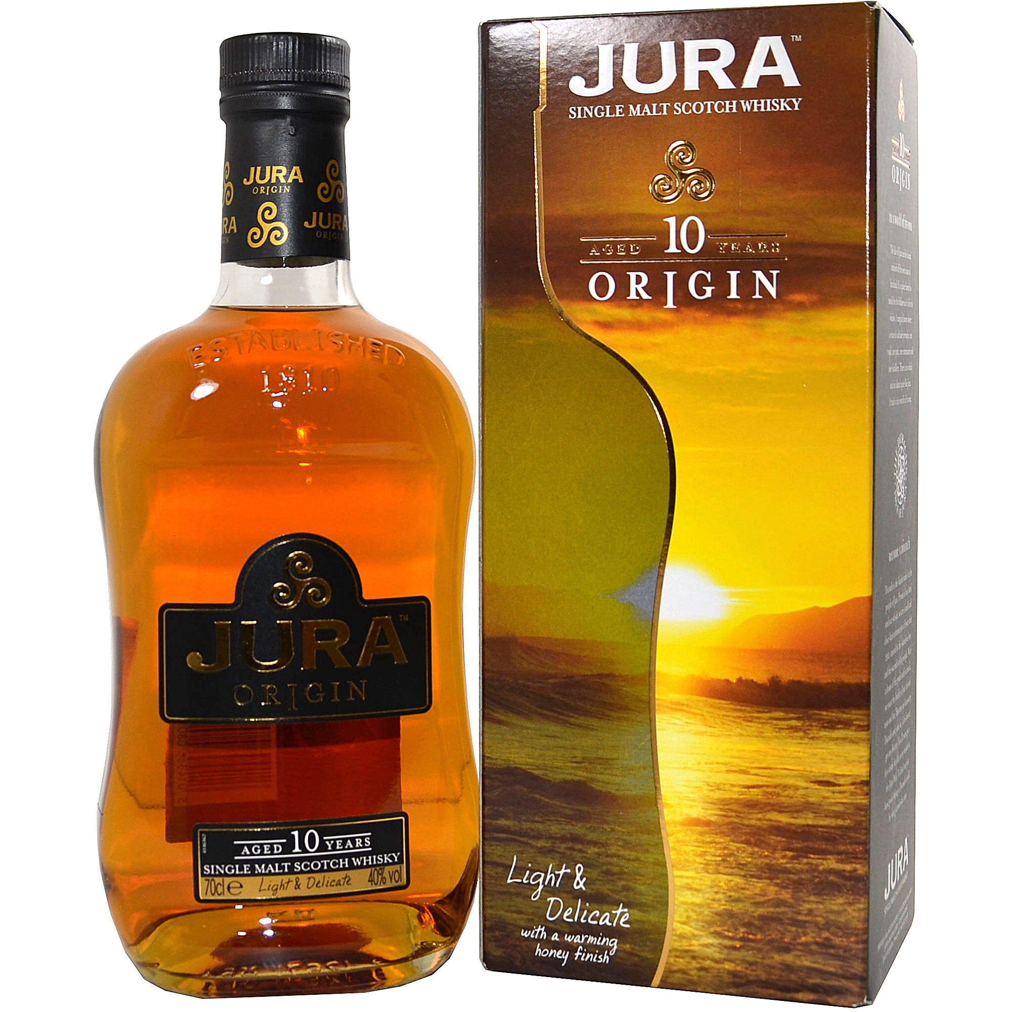 Isle of Jura 10 Origin