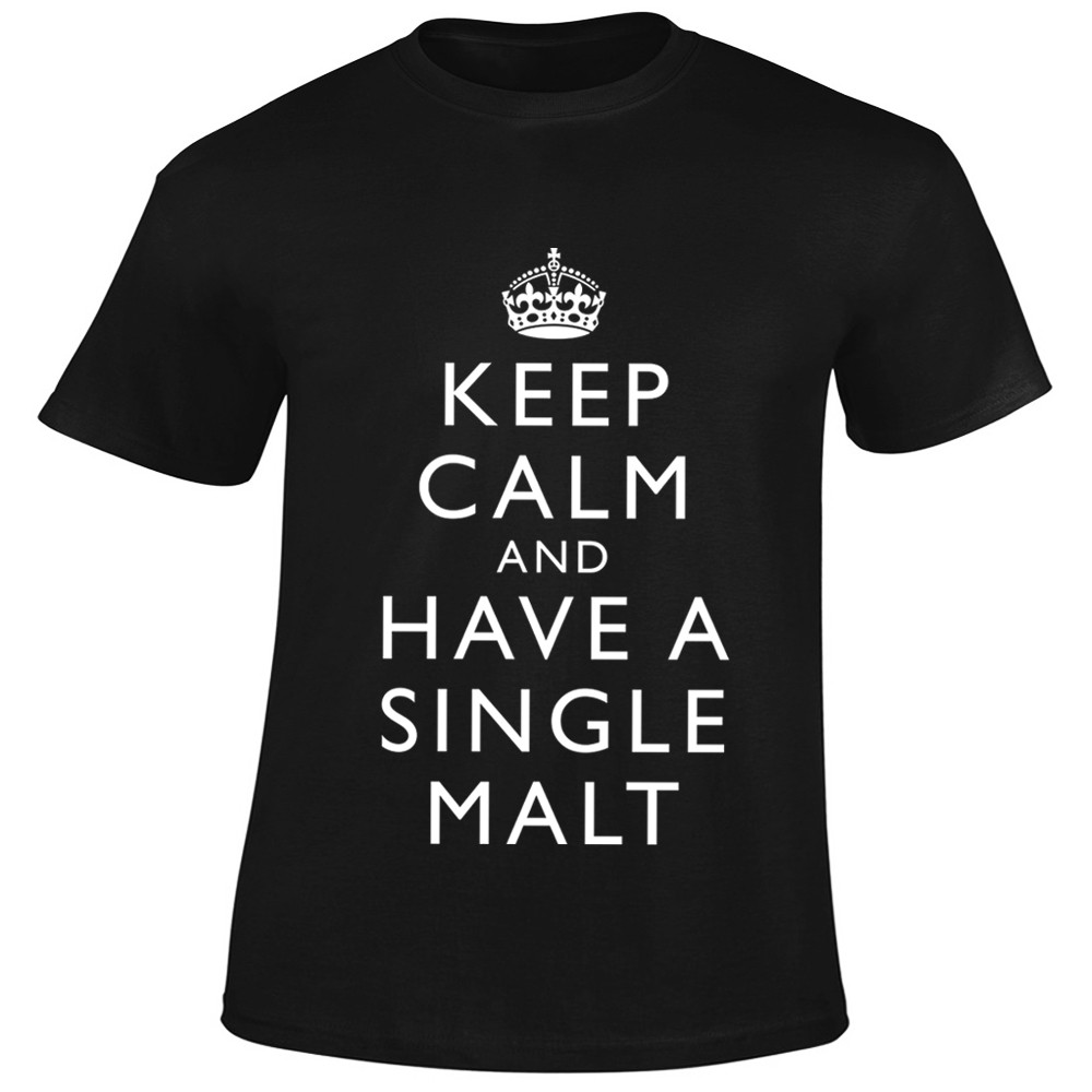 T-Shirt Keep Calm And Have A Single Malt