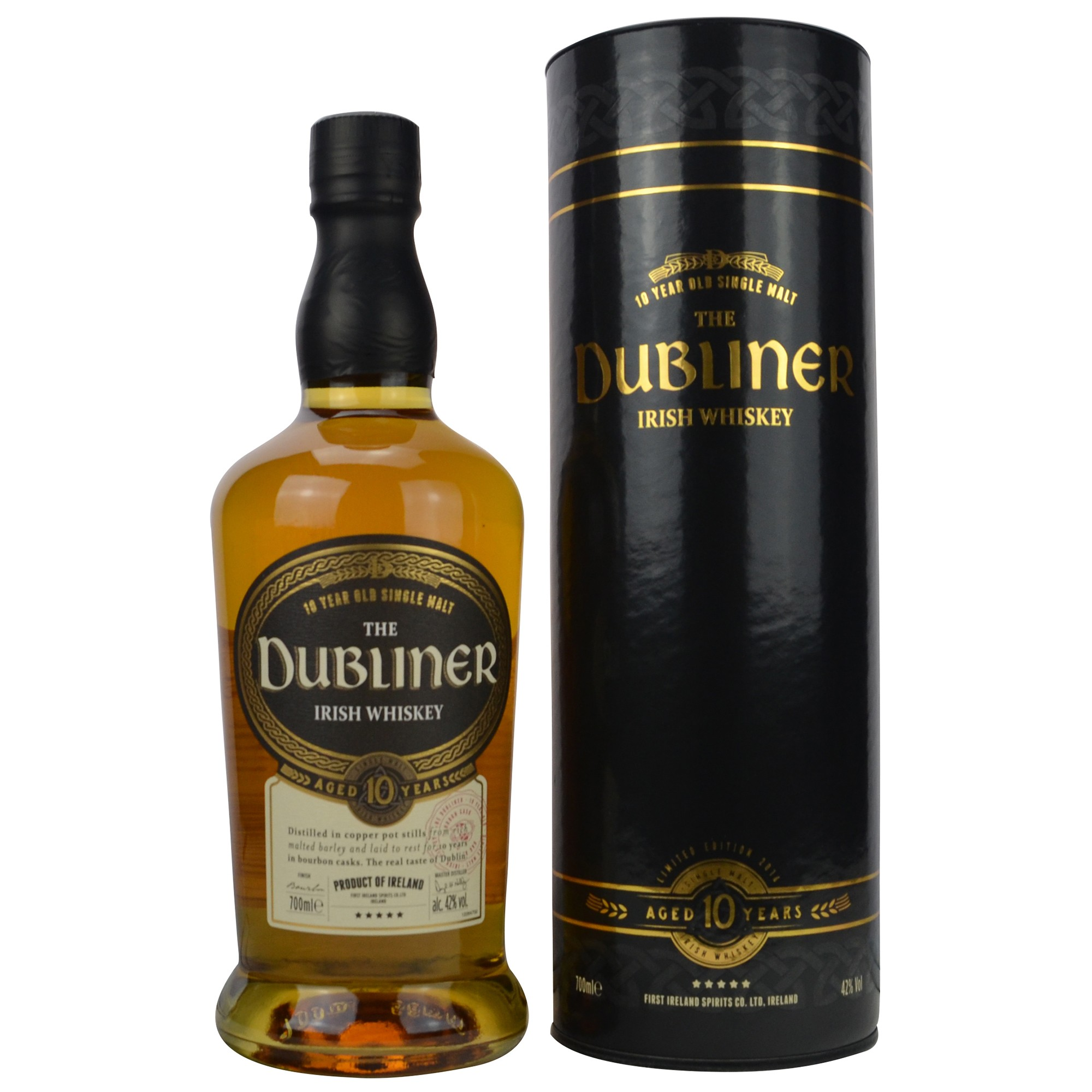 The Dubliner 10 Jahre Irish Single Malt Whiskey - Limited Edition (Irland)