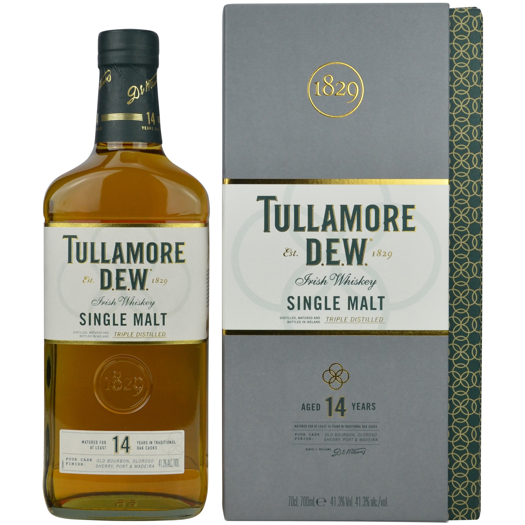 Tullamore Dew 14 Jahre Four Cask Finish (Irland)