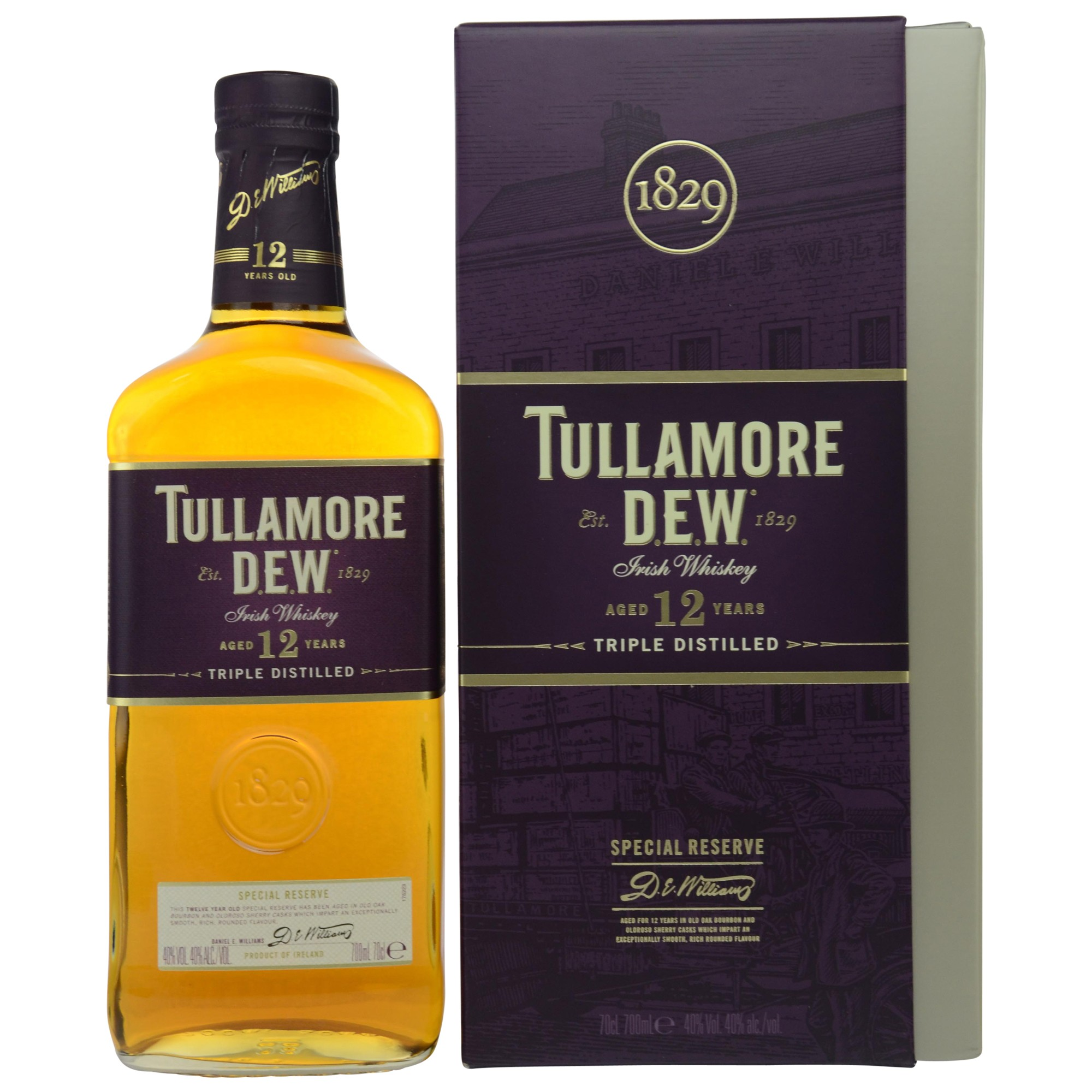 Tullamore Dew Special Reserve 12 Jahre (Irland)