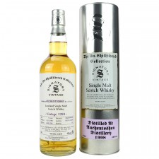 Auchentoshan 1998/2016 - Cask No. 102361+362 (Bourbon Barrel) - (Signatory Un-Chillfiltered)