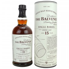 Balvenie 15 Single Barrel Sherry Cask - Cask Number 11269