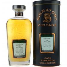 Glen Grant 1995/2017 - Cask No. 88174 + 88175 (Bourbon Barrel) - (Signatory Cask Strength)