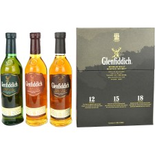 Glenfiddich Collection (3x 200ml)
