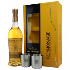 Glenmorangie The Original inkl. 2 Metalltassen (Craftmans Cup)