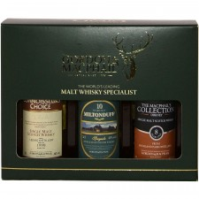 Miltonduff 10, Highland Park 8 und Ledaig 2000 - Gordon & MacPhail Miniatur Collection