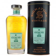Highland Park 1990/2015 - Cask. No. 15706 - Sherry Butt (Signatory Cask Strength Collection)