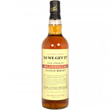 Ian MacLeod's As We Get It Cask Strength Highland Single Malt Scotch Whisky