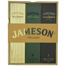Jameson Trilogy - Gold Reserve, Irish Whiskey, Select Reserve je 200 ml (Irland)