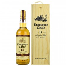 Knappogue Castle 14 Jahre Twin Wood in Holzkiste (Irland)