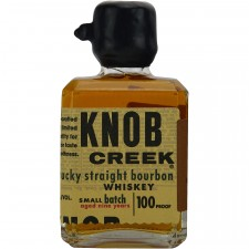 Knob Creek 9 Jahre Single Barrel Reserve Small Batch 100 proof (Miniatur) (USA: Bourbon)