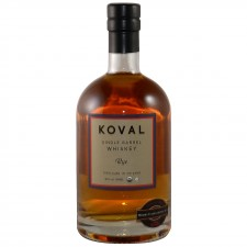 Koval Single Barrel Rye Whiskey (USA: Rye)