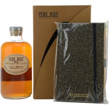 Nikka Pure Malt Black Set mit Tasting Notes Buch (Japan)