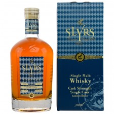 Slyrs Cask Strength Crocodile Toasting Single Cask 2013/2017 (Deutschland)
