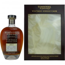 Tomintoul 1977/2015 Vintage Single Sherry Cask 3700