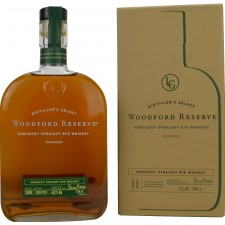 Woodford Reserve Kentucky Straight Rye Whiskey (USA: Rye)
