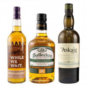 Rauchige Single Malt Whisky Geheimtipps - Paket