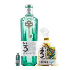 No. 3 London Dry Gin + Anstecker + Gin Trüffel