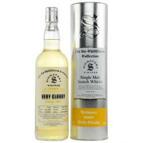 Ardmore 2008/2017 Very Cloudy Cask Nos 800158 + 800159 (Signatory Un-Chillfiltered)