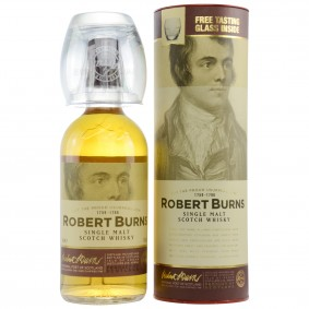 Arran Robert Burns Single Malt Set mit Glas