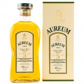 Aureum Single Malt 5 Jahre - matured in Chestnut Casks (altes Design) (Deutschland)
